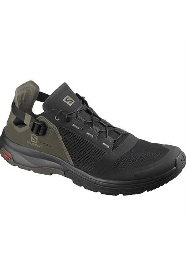 Salomon Tech Amphıb 4 Erkek Outdoor Ayakkabı Black-Beluga-Castor Gray Siyah